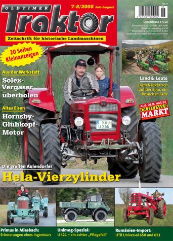 Oldtimer Traktor 7-8/2008