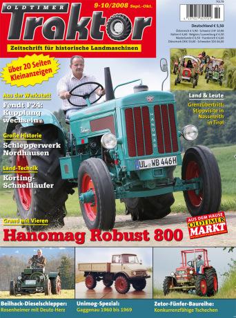 Oldtimer Traktor 9-10/2008