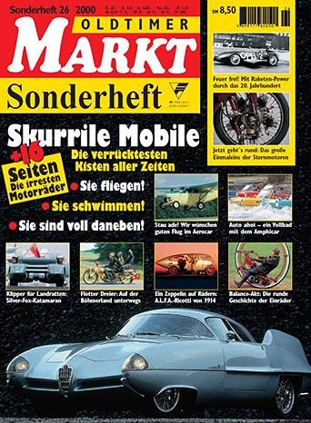 Sonderheft 26: Skurrile Mobile, Erscheinungsjahr 2000